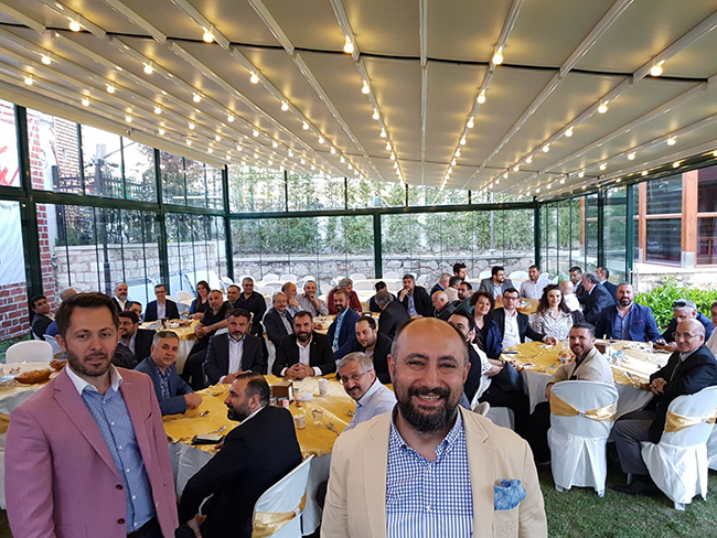 Patronlar Platformu Tomarzalılar Vakfı'nda Buluştu