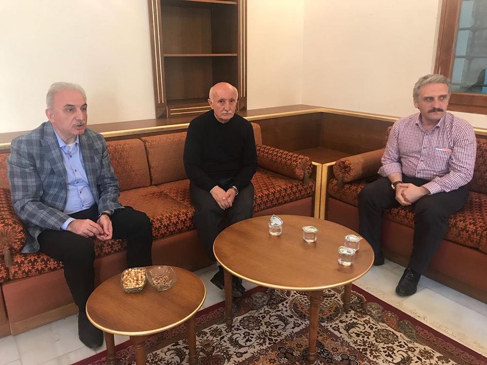 Ahmet ÇAMLI ve İsmet YILDIRIM Ziyaret